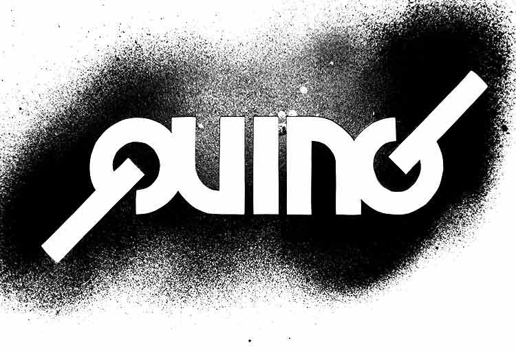 quing-schablone